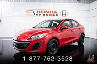 Used 2011 Mazda MAZDA3 GX + AUTO + A/C + GR ELEC + WOW! for sale in St-Basile-le-Grand, QC