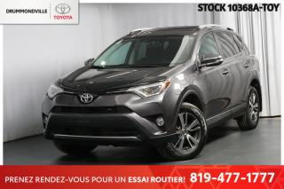 Used 2016 Toyota RAV4 XLE  **INTÉGRALE**  |TOIT OUVRANT + HAYON ASSIT.| for sale in Drummondville, QC