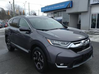 Used 2017 Honda CR-V Touring LEATHER, PANOROOF, NAV, FULL LOAD!! for sale in Richmond, ON