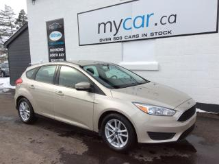 Used 2017 Ford Focus SE ALLOYS, BACKUP CAM, POWERGROUP, BLUETOOTH!! for sale in Richmond, ON