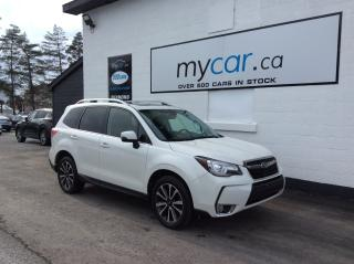 Used 2017 Subaru Forester 2.0XT Touring LEATHER, NAV, SUNROOF, HEATED PWR SEAT!! for sale in Richmond, ON