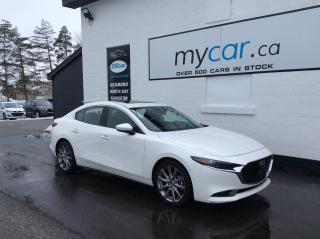 Used 2019 Mazda MAZDA3 GT LEATHER, SUNROOF, NAV, MYCAR POWERBUY!! for sale in Richmond, ON