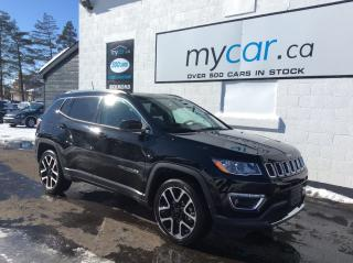 Used 2020 Jeep Compass Limited LEATHER, NAV, PANOROOF, UNREAL DEAL!! for sale in Richmond, ON