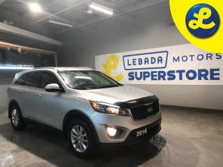 Used 2016 Kia Sorento Heated Seats * 17 inch Alloy Rims * Hood Bug Deflector * Roof Rails * Cruise Control * Steering Wheel Controls * Hands Free Calling * Park Assist *Aut for sale in Cambridge, ON