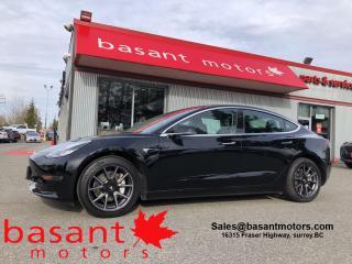 Used 2019 Tesla Model 3 Long Range, Heated Seats, Backup Cam, 540Km Range! for sale in Surrey, BC