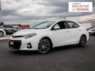 Used 2016 Toyota Corolla S for sale in Ancaster, ON