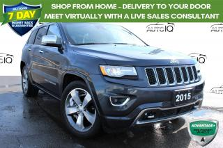 Used 2015 Jeep Grand Cherokee Overland SUNROOF AWD NAVIGATION LEATHER for sale in Hamilton, ON