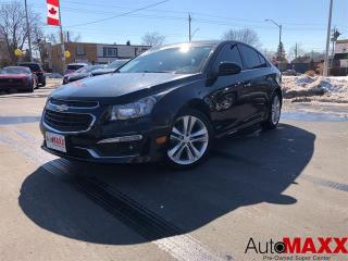 Used 2016 Chevrolet Cruze LTZ - HEATED LEATHER, NAVIGATION, SUNROOF! for sale in Windsor, ON