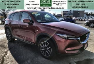 Used 2017 Mazda CX-5 GT AWD Heated Leather Sun Roof Bluetooth Backup Cam Low K's for sale in Belle River, ON