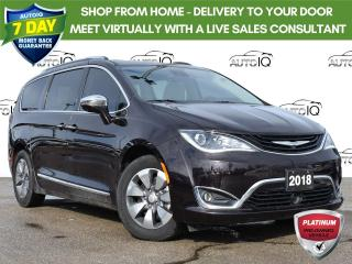 Used 2018 Chrysler Pacifica Hybrid Limited 1 owner trade/with snow tires for sale in St. Thomas, ON