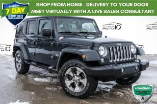 Used 2016 Jeep Wrangler Unlimited Sahara HEATED SEATS! ALPINE SOUND SYSTEM! for sale in Barrie, ON