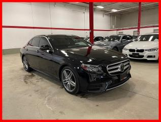 Used 2018 Mercedes-Benz E-Class E300 4MATIC DISTRONIC TECHNOLOGY PREMIUM 19'S CLEAN CARFAX! for sale in Vaughan, ON