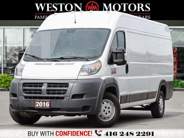 2016 Dodge Promaster 3500 HIGHROOF*3.6L*160WB*EXTENDED*READY FOR WORK!