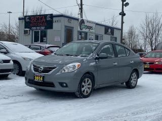 Used 2014 Nissan Versa SL for sale in Kitchener, ON
