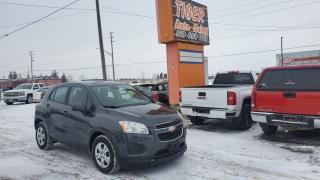 Used 2015 Chevrolet Trax LS**GREAT ON FUEL**SMALL SUV**AUTOMATIC**CERT for sale in London, ON