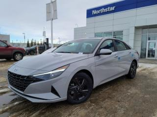 New 2021 Hyundai Elantra PREFFERED W TECH: BLUELINK/WIRELESS APPLE CARPLAY/SUNROOF/SAFETY PKG for sale in Edmonton, AB