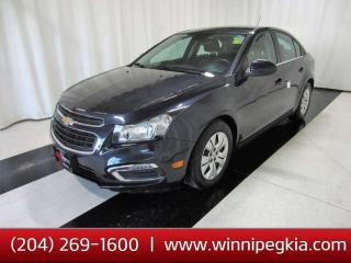 Used 2015 Chevrolet Cruze 1LT *Always Owned In Manitoba!* for sale in Winnipeg, MB