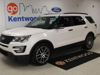 Used 2017 Ford Explorer Sport | 4x4 | Sunroof | Heated/Cooled Leather | for sale in Edmonton, AB