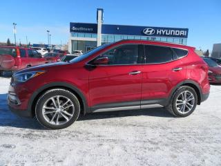 Used 2017 Hyundai Santa Fe Sport SE 2.0L/AWD/B.CAM/LEATHER/HEATED WHEEL/PANO ROOF for sale in Edmonton, AB