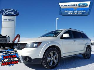 Used 2017 Dodge Journey Crossroad  - Leather Seats - $132 B/W for sale in Fort St John, BC