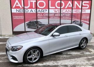 Used 2017 Mercedes-Benz E-Class E 400-ALL CREDIT ACCEPTED for sale in Toronto, ON