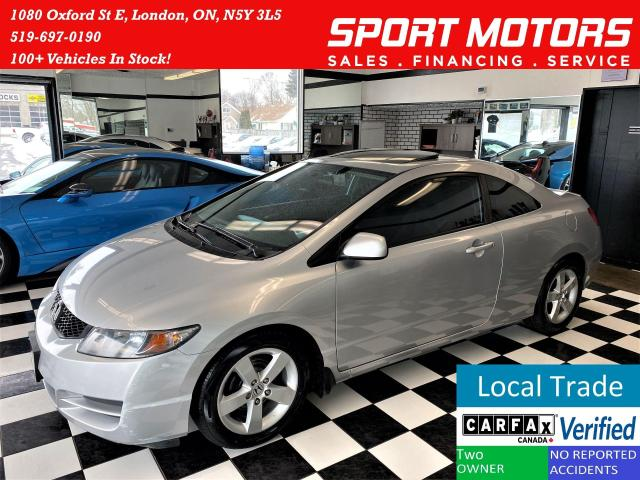 2009 Honda Civic LX+Sunroof+New Tires & Brakes+A/C+ACCIDENT FREE