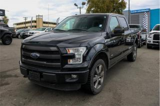Used 2016 Ford F-150 SuperCrew 5.5-ft. Bed 4WD for sale in Victoria, BC