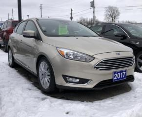 Used 2017 Ford Focus Titanium for sale in Brockville, ON