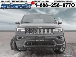 Used 2017 Jeep Grand Cherokee OVERLAND | 4X4 | HEMI | BLIND | SAFETY & MORE!!! for sale in Milton, ON