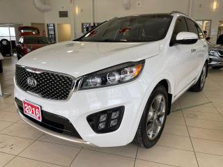 Used 2016 Kia Sorento AWD SX V6 (7-Seater) for sale in Waterloo, ON