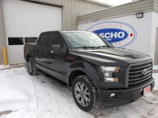 Used 2017 Ford F-150 XLT Sport SuperCrew 5.5-ft. Bed 4WD | Navigation | Hard Tri-Fold Tonneau for sale in Kitchener, ON