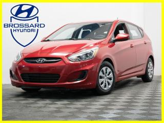 Used 2015 Hyundai Accent AUTO GL SIÈGES CHAUFFANTS BLUETOOTH CRUISE for sale in Brossard, QC