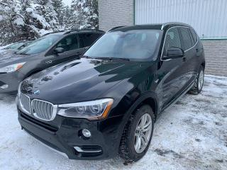 Used 2016 BMW X3 xDrive28i PREMIUM LUXE for sale in Val-David, QC