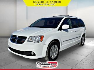 Used 2017 Dodge Grand Caravan CREW * JAMAIS ACCIDENTE* for sale in Donnacona, QC