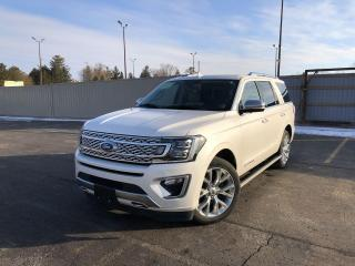 Used 2018 Ford Expedition Platinum 4WD for sale in Cayuga, ON