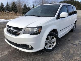 Used 2016 Dodge Grand Caravan Crew for sale in Cayuga, ON