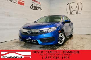 Used 2018 Honda Civic LX CVT for sale in Blainville, QC