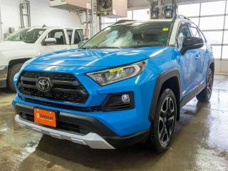 Used 2019 Toyota RAV4 TRAIL ALERTES TOIT SIÈGES VENT / CHAUF *RÉG ADAPT* for sale in St-Jérôme, QC
