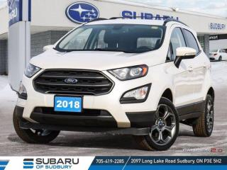 Used 2018 Ford EcoSport SES - 4WD - HEATED SEATS!! for sale in Sudbury, ON