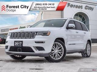 Used 2017 Jeep Grand Cherokee Summit for sale in London, ON