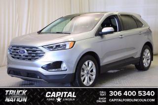 Used 2020 Ford Edge Titanium AWD for sale in Regina, SK