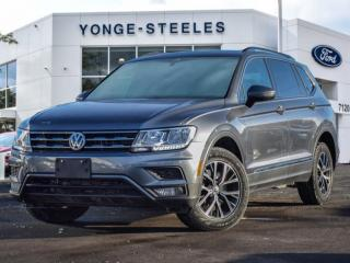 Used 2019 Volkswagen Tiguan COMFORTLINE for sale in Thornhill, ON