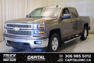 Used 2015 Chevrolet Silverado 1500 LT Crew Cab for sale in Regina, SK