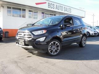 Used 2018 Ford EcoSport Titanium Edition Navigation Radar Assist Low K for sale in Vancouver, BC