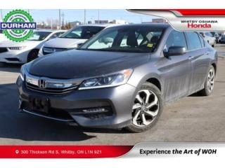 Used 2017 Honda Accord EX-L | CVT | Leather for sale in Whitby, ON