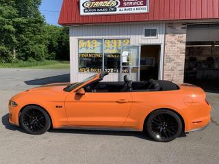 Used 2020 Ford Mustang GT Premium for sale in Morrisburg, ON