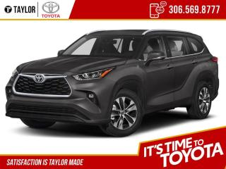 New 2021 Toyota Highlander XLE for sale in Regina, SK