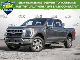 New 2021 Ford F-150 PLATINUM for sale in Kitchener, ON