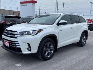 Used 2019 Toyota Highlander HYBRID Limited HYBRID LIMITED! for sale in Cobourg, ON