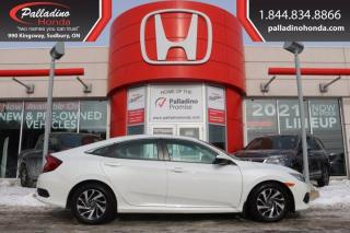 Used 2018 Honda Civic Sedan EX - HEATED SEATS BLIND SPOT CAMERA LANE KEEP ASSIST - for sale in Sudbury, ON